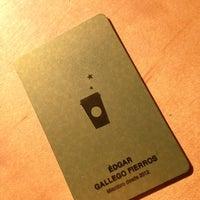 Photo taken at Starbucks by Édgar G. on 6/5/2013