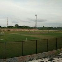 Photo taken at Stadion Bima by Hendrik on 6/21/2016