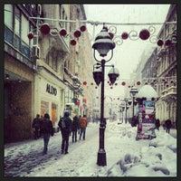 Photo taken at Knez Mihailova by Nenad V. on 12/11/2012