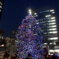 Photo taken at Daley Plaza by Daniela on 11/20/2012