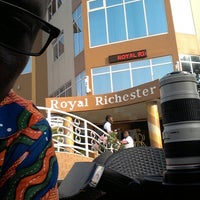 Photo taken at Royal Richester by Prince O. on 3/9/2014