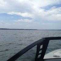 Photo taken at Lake Conroe by Peter S. on 7/21/2013