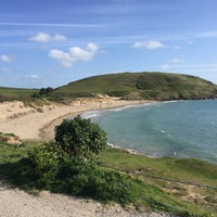 Photo taken at Daymer Bay by Olly S. on 5/16/2015