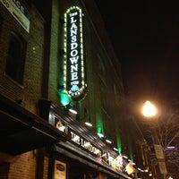 Photo taken at The Lansdowne Pub by Steve G. on 12/11/2012