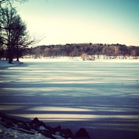 Photo taken at Jamaica Pond by Steve G. on 1/6/2013