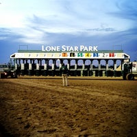 Photo taken at Lone Star Park by Robert F. on 4/13/2013