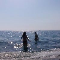 Photo taken at Spiaggia Di Paola by Lavinia D. on 8/7/2013