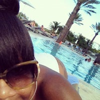 Photo taken at Poolside@ Miami Mariott by Kitty S. on 11/23/2012