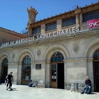 Photo taken at Gare SNCF de Marseille Saint-Charles by Galantnyy G. on 6/22/2013