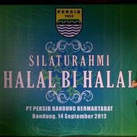 Photo taken at PT. Persib Bandung Bermartabat by Bram B. on 9/14/2012