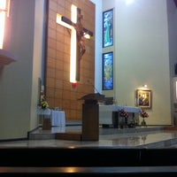 Photo taken at Gereja Kristus Salvator by Carlos C. on 7/13/2013