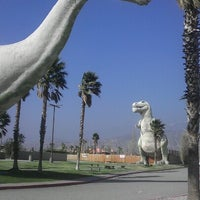 Photo taken at Cabazon Dinosaurs by Luis O. on 2/6/2013