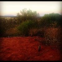 Photo taken at Uluru by Zoë D. on 10/6/2012