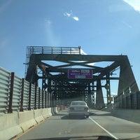 Photo taken at Maurice J. Tobin Memorial Bridge by Stacey V. on 5/16/2013