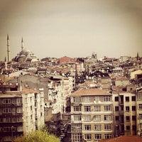 Photo taken at Aksaray by Ezer B. on 4/6/2013