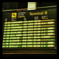 Photo taken at Terminal 2B by Angel F. on 12/30/2012