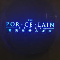Photo taken at Porcelain Hotel by Luca C. on 2/3/2013