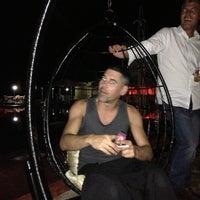Photo taken at La Jacaranda Lounge Ibiza by Masqbicis on 9/7/2013