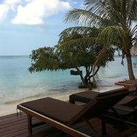 Photo taken at Sarikantang Resort & Spa, Koh Phangan by Maikel E. on 12/13/2012