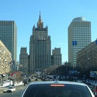 Photo taken at Смоленская-Сенная площадь by lobanden on 3/28/2013