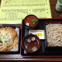 Photo taken at そば茶屋 庄吉 by K N. on 3/31/2014