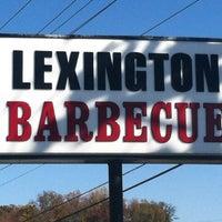 Photo taken at Lexington Barbecue by Matt W. on 11/3/2012