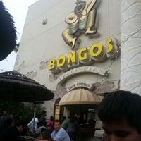 Photo taken at Bongo's Cuban Cafe by Luis M. on 12/25/2012