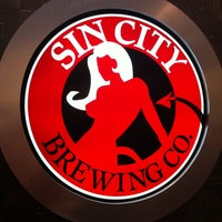 Photo taken at Sin City Brewing Company by Joel D. on 5/14/2013
