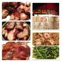 Photo taken at Kau Kau Barbeque Market by Yansen S. on 9/14/2012