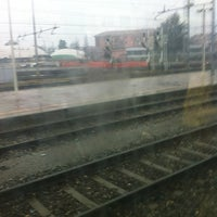 Photo taken at Stazione Asti by Alessandra A. on 11/27/2012
