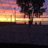 Photo taken at Whiskey Island Volleyball Courts by Sydney R. on 7/3/2016