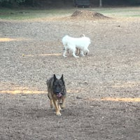 Photo taken at Oakhurst Dog Park by Ed A. on 10/19/2016