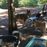 Photo taken at Oakhurst Dog Park by Ed A. on 10/23/2016