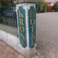 Photo taken at Hotel Krone by Brian K. on 4/3/2014