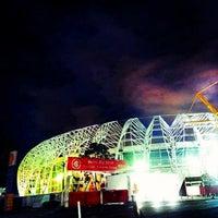 Photo taken at Beira-Rio Stadium by Ederson Z. on 7/16/2013
