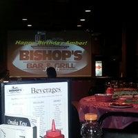 Photo taken at Bishop's Bar & Grill by Tonya C. on 2/17/2013