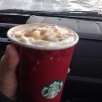 Photo taken at Starbucks by Tina :. on 1/12/2014