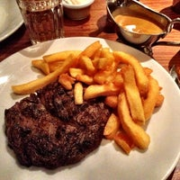 Photo taken at Hawksmoor Spitalfields by Susanna C. on 6/1/2012