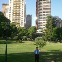 Photo taken at Plaza Barrancas de Belgrano by Danilo A. on 12/13/2012