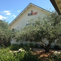 Photo taken at Solbar at Solage Calistoga by Gina H. on 5/28/2013