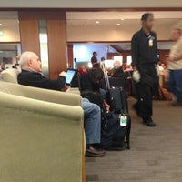 Photo taken at Delta Sky Club by Randy K. on 12/3/2012