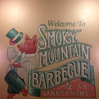Photo taken at Smoky Mountain Barbeque by Ricky B. on 1/17/2014