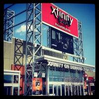 Photo taken at XFINITY Live! Philadelphia by Eric W. on 4/9/2013