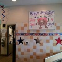 Photo taken at Krispy Kreme Doughnuts by Raven L. on 6/21/2013