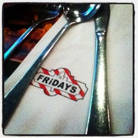 Photo taken at TGI Fridays by Frances G. on 10/12/2012