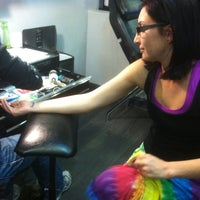 Photo taken at Scratch The Surface Tattoo And Body Piercing by Haley J. on 1/19/2013