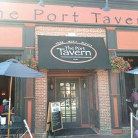 Photo taken at Port Tavern by Denise on 8/10/2013