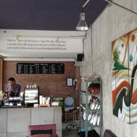 Photo taken at Boy's Organic Coffee Shop by Oleg K. on 11/2/2012