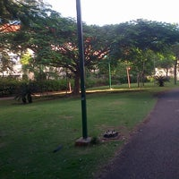 Photo taken at Parque Las Praderas by Emmanuel T. on 10/6/2013