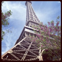 Photo taken at Eiffel Tower by Mark J. on 3/28/2013